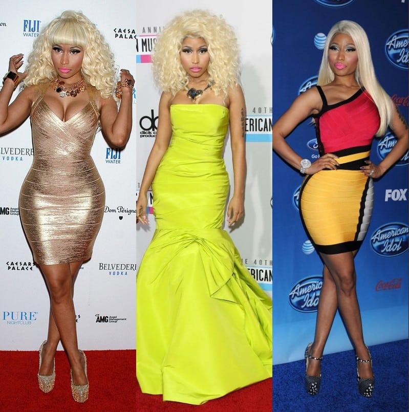 Les meilleurs looks de Nicki Minaj