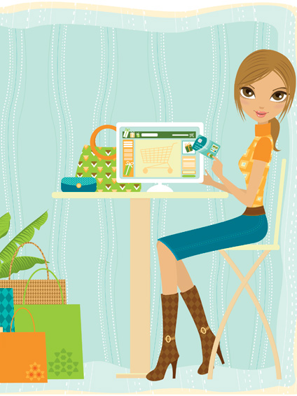 virée shopping en ligne